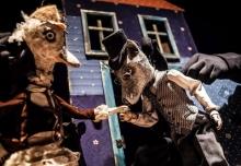 18.12.2014 Poznań Teatr Animacji spektakl pt. A niech to gęś kopnie reż. marta Guśniowska foto Bartłomiej Jan Sowa