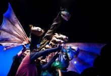 29.08.2014 Poznan Teatr Animacji spektakl pt. Smoki foto Bartlomiej Jan Sowa
