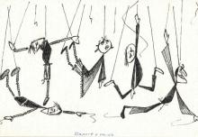 10. Rysunek Jana Wilkowskiego, 1`983
