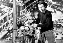 2. Jan Wilkowski w Guignolu w tarapatach, Lalka 1956 fot. E. Hartwig